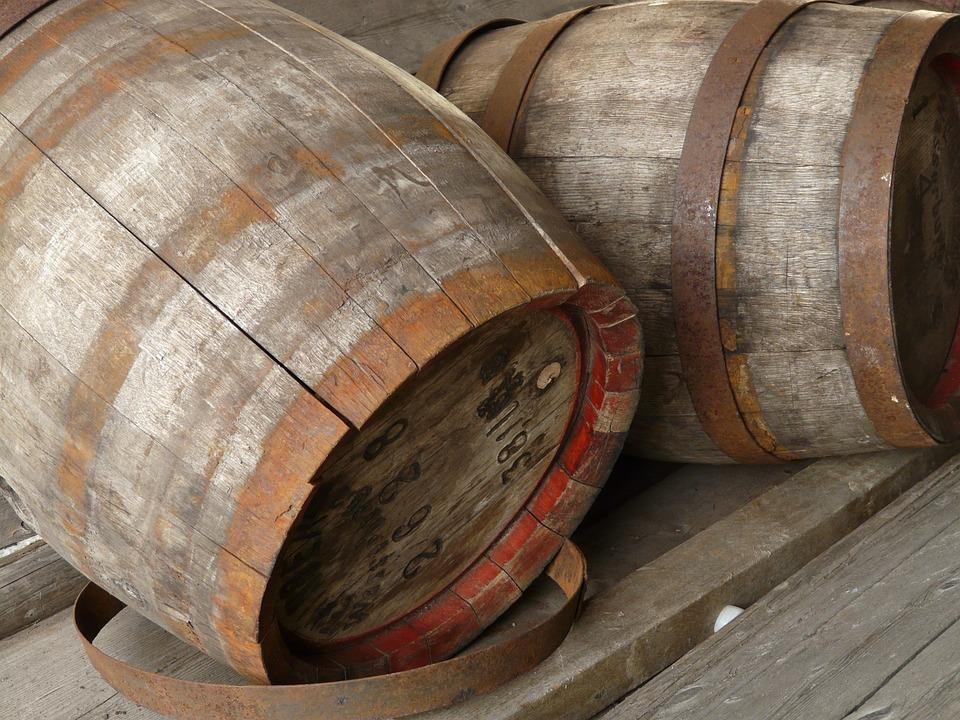 Wijn Whisky vaten