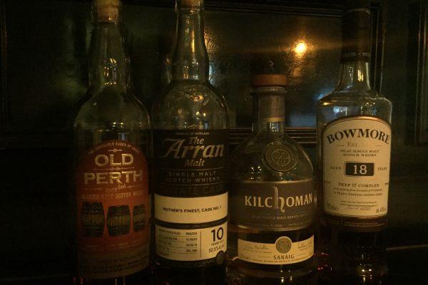 Whisky tasting thursday Old Perth