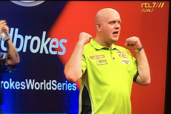 Michael van Gerwen wint