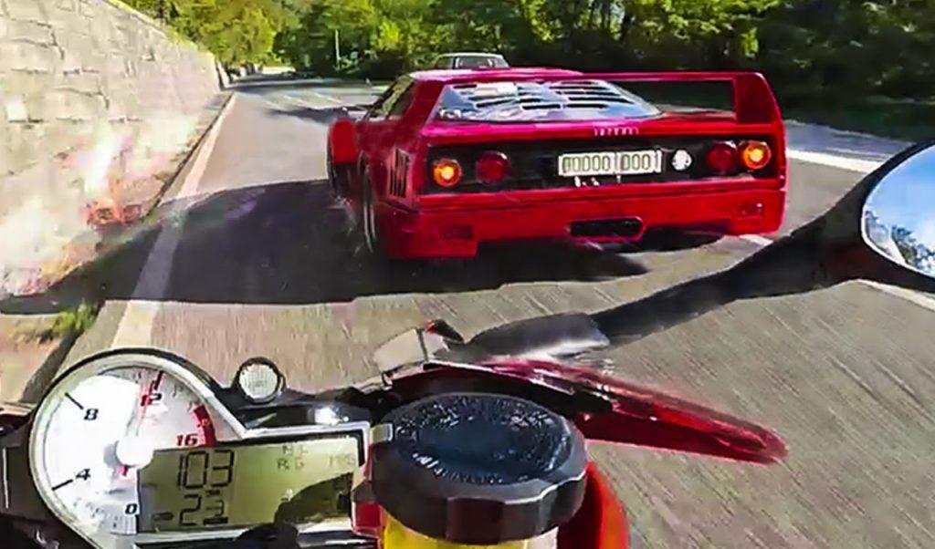 Bmw S1000RR vs Ferrari F40