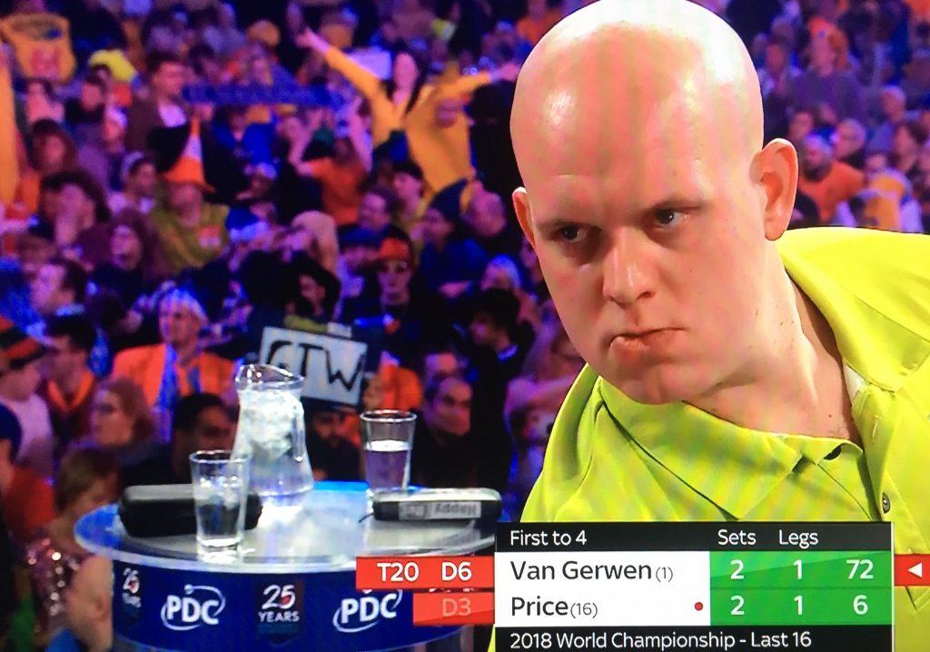 WK darts 2018 Michael van Gerwen