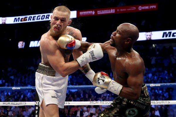 mayweather naar UFC
