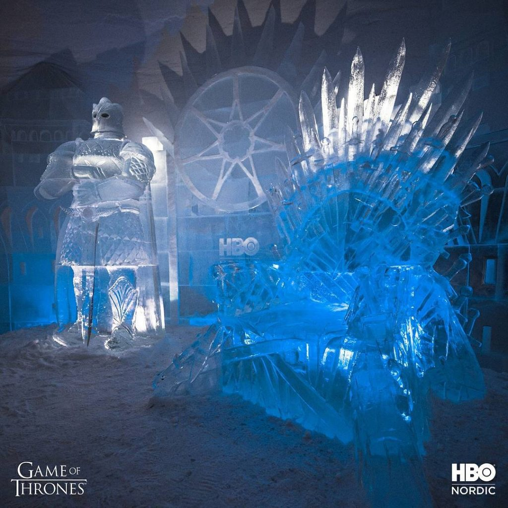 Game of Thrones Ijshotel Finland