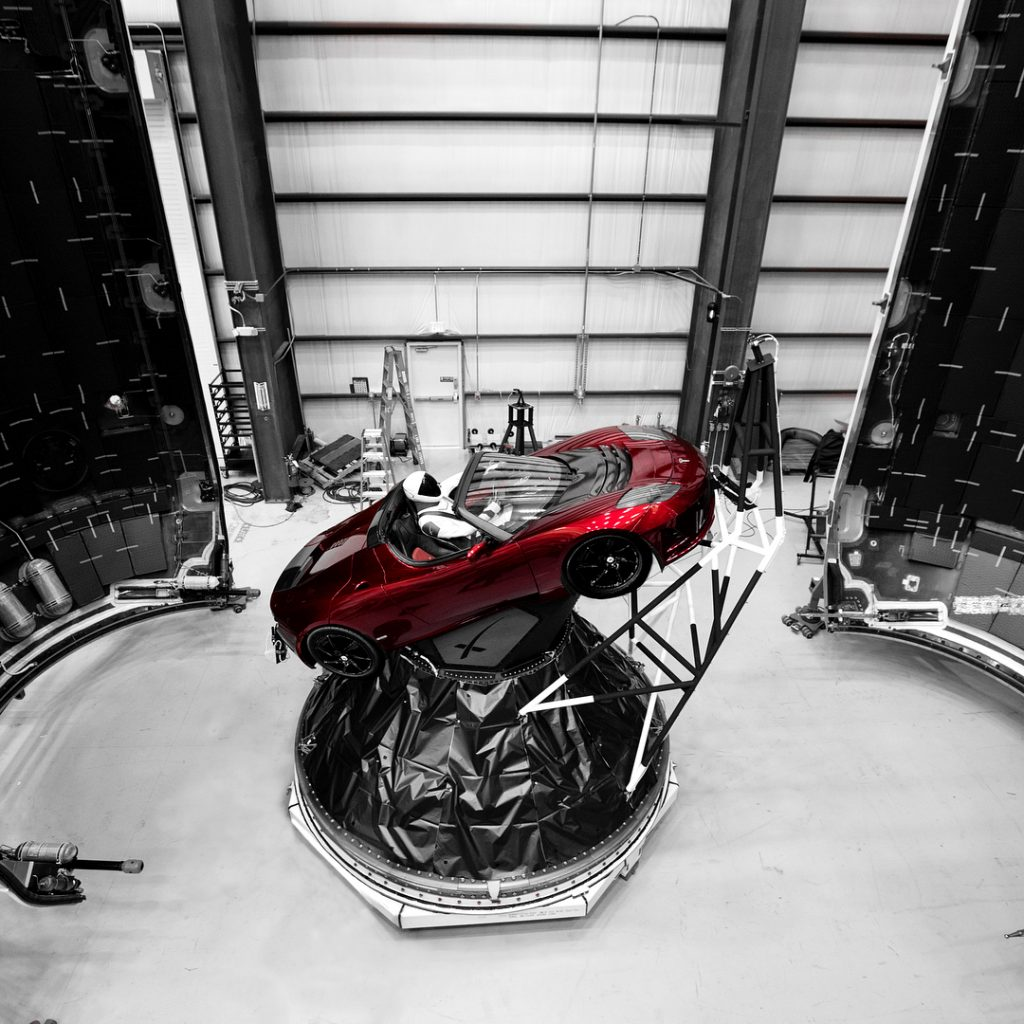 Elon Musk Tesla Space Ship