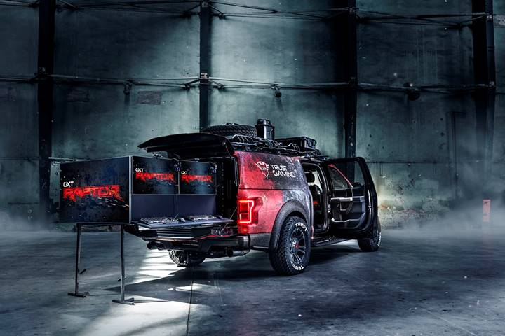 The Ultimate Trust Gaming Car: GXT Raptor uitgestald