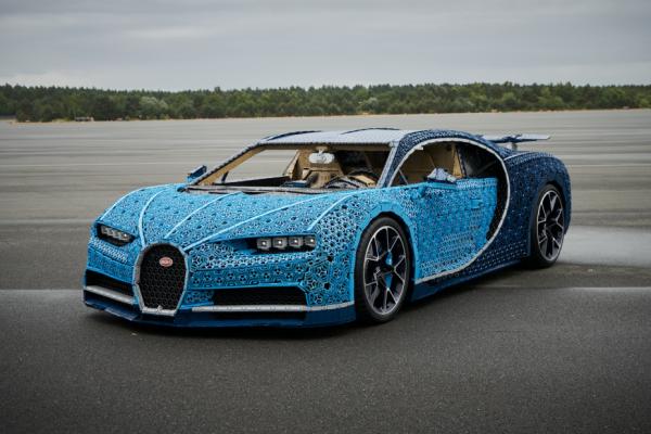 LEGO Bugatti Chiron levensecht