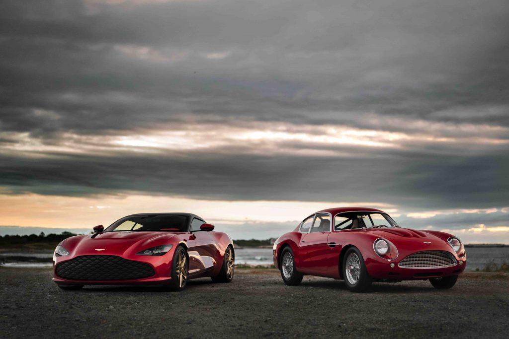 Aston Martin DBZ Centenary Collection Manisfaction
